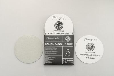 """KAMIKAZE COLLECTION Sanding Banzai Disc 3000 5"""""""